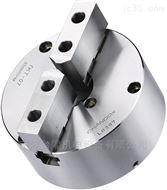 台湾千岛卡盘可调式强力型二爪钢壳夹头