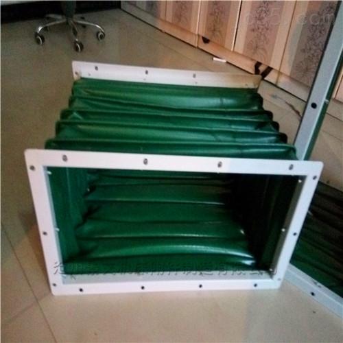电柜阻燃长方形风道口软连接报价