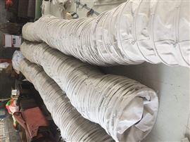 自定水泥散装机下料口输送水泥耐磨帆布袋