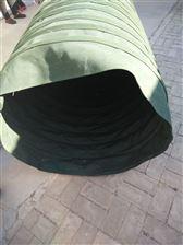 自定通风口绿色帆布伸缩软接头定制厂家