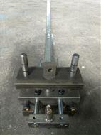 不锈钢方管圆管铝材角钢断料冲孔机五金模具