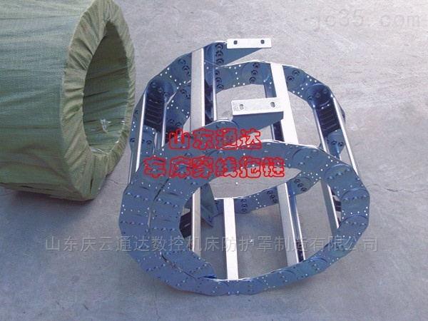 钢制拖链-山东通达钢制穿线拖链
