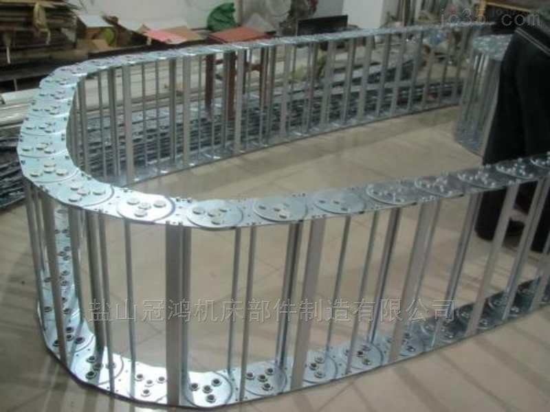桥式钢制拖链价格