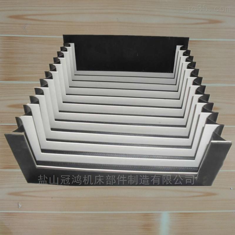激光切耐高温阻燃风琴防尘罩
