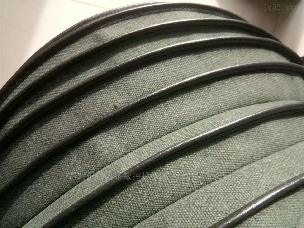 散装机帆布伸缩袋 水泥砂罐用除尘布袋