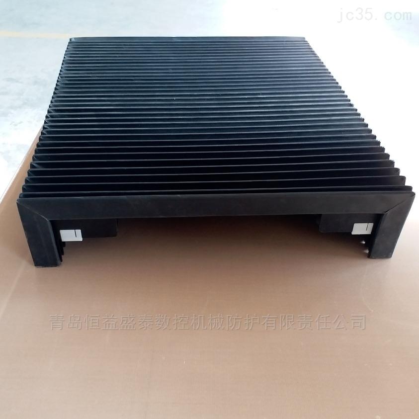 高速工业级光纤设备直线导轨风琴式防护罩