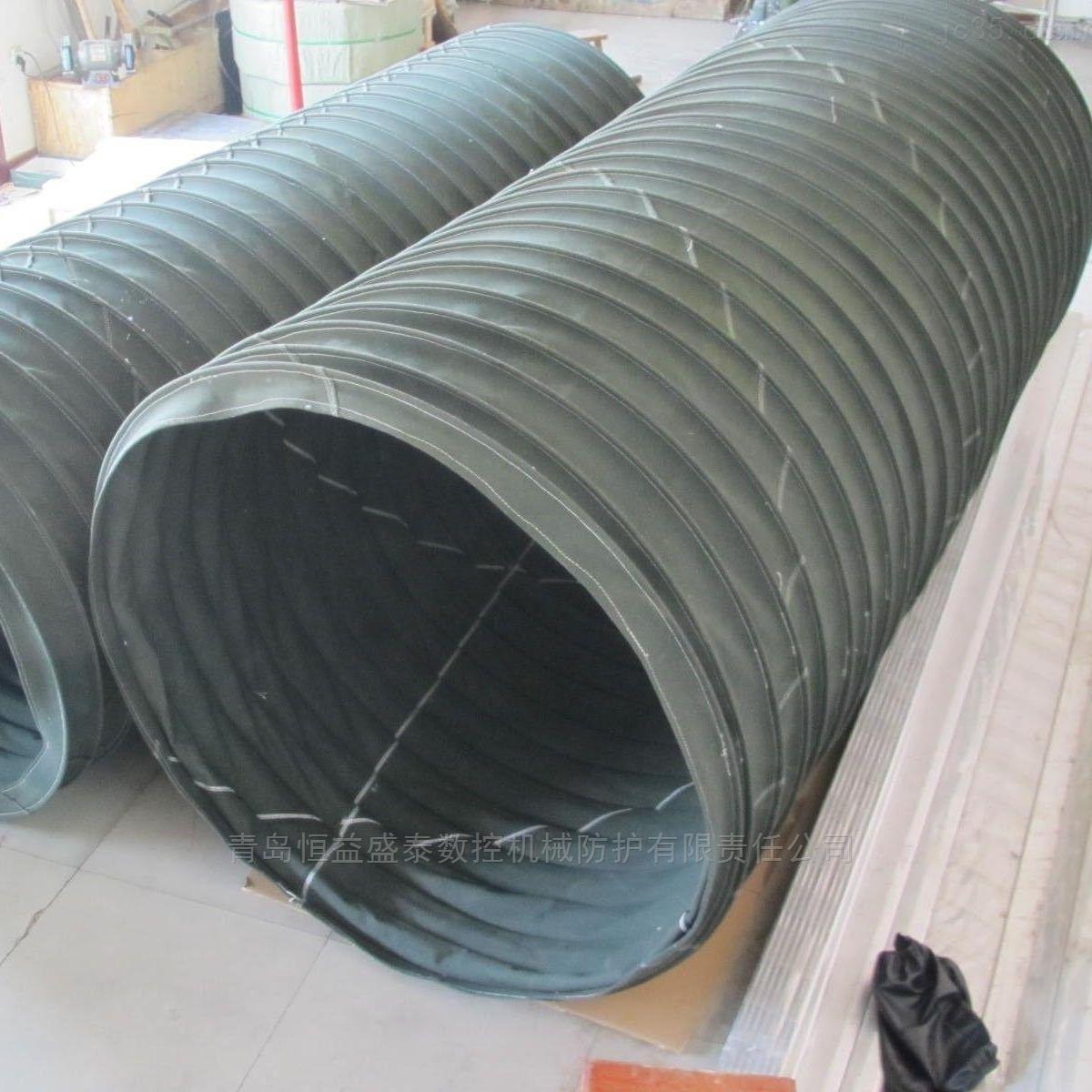 装机卸料除尘伸缩布筒厂家自产自销
