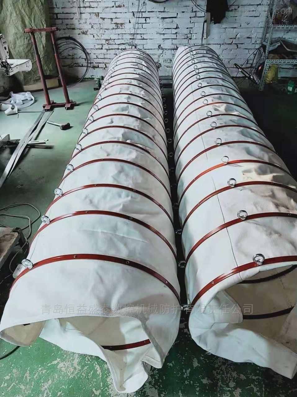 可收缩式帆布收尘下料筒厂家报价