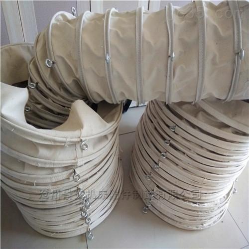 广西码头水泥散装罐车输送伸缩布袋厂家定做