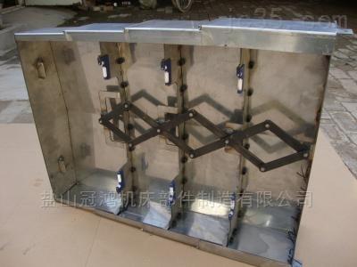 济南3米龙门钢板伸缩护罩