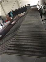 水刀切割机风琴式防护罩