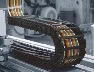 阻燃承重型塑料拖链