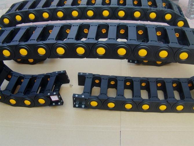 承重型阻燃电缆塑料拖链