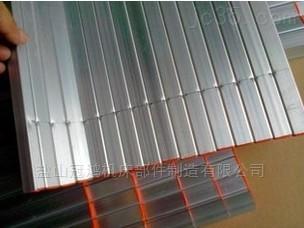 专业定制机床铝裙帘防护罩