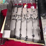 震环机床轮毅车床导轨钢板防护罩厂家定做