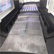 芜湖日升重型机床TKJ6913钢板防护罩飞盛顺