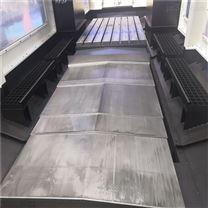 南通峰伟数控旋风铣床钢板防护罩定做测量