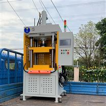 单柱竞技宝油压机,单柱精密伺服液压压装机