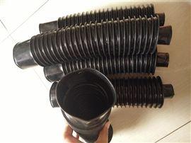 自定三防布液压气缸活塞杆伸缩防尘罩