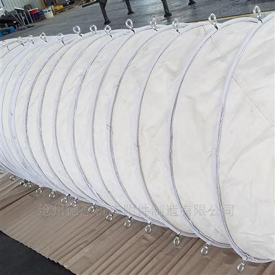 350安徽海螺水泥专用耐磨伸缩帆布布筒