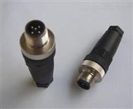 M12传感器防水连接器