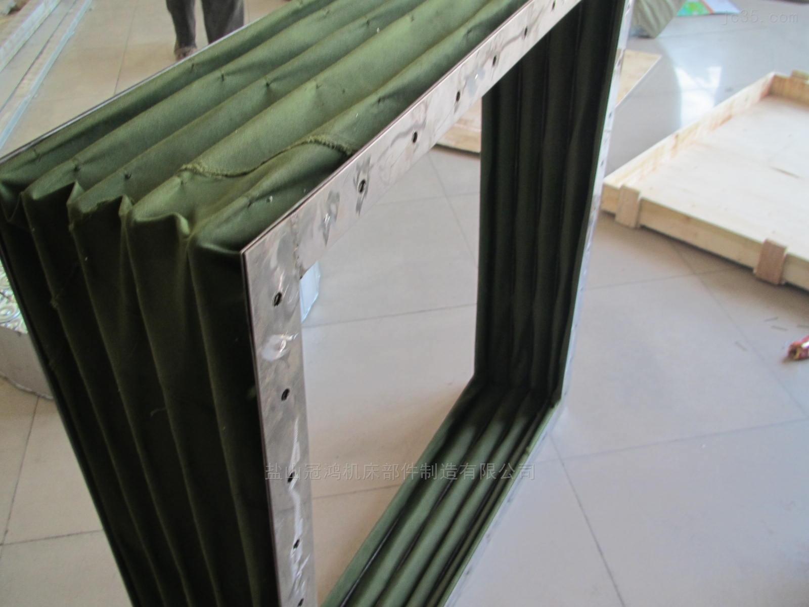 杭州硅胶布防火软连接定做厂家