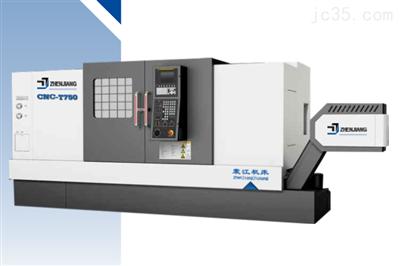 CNC-T750线轨斜床身数控车床