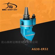 国产轻型角度头 BT30-ER32加工中心侧铣头