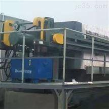 广安污水处理厂污泥脱水压滤机
