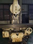 二手上海第三X5042立式升降臺銑床