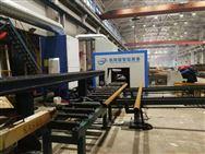 型材二次加工生产线 H型钢切割机