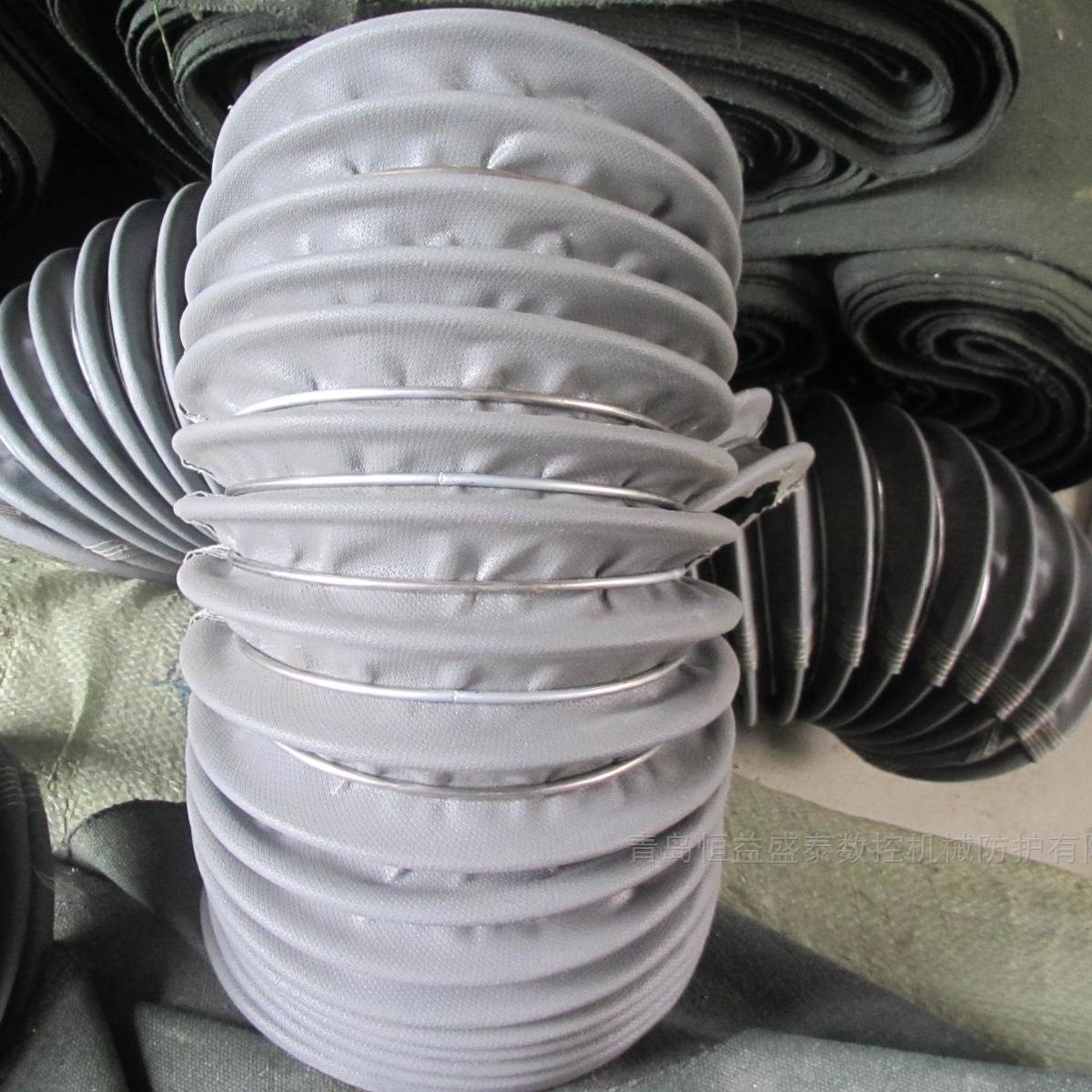 炼钢厂通风口防火耐高温伸缩软连接厂家定制
