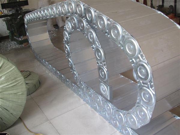 打开式钢铝拖链