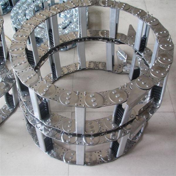 TL钢铝拖链 车床金属桥式拖链厂家销售