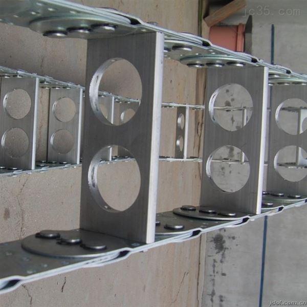 钢厂设备TL125打孔式钢铝拖链