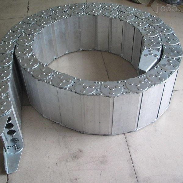 卸卷小车钢制拖链生产厂家