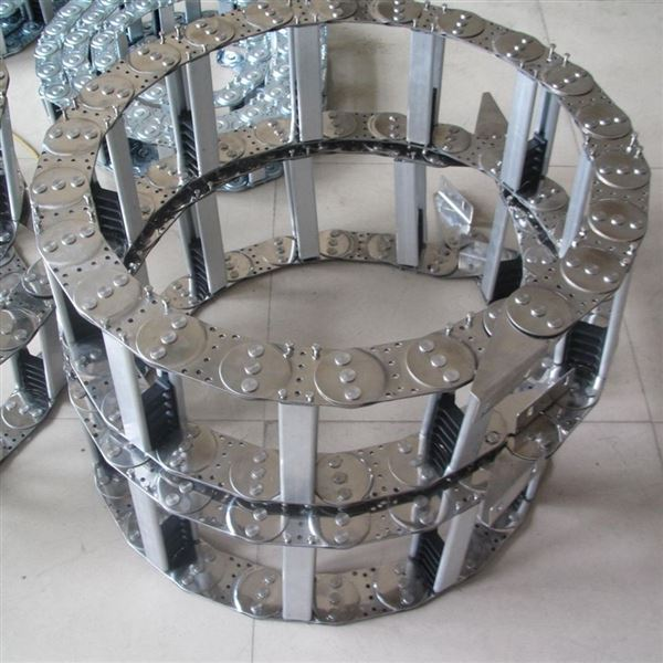 钢制穿线拖链