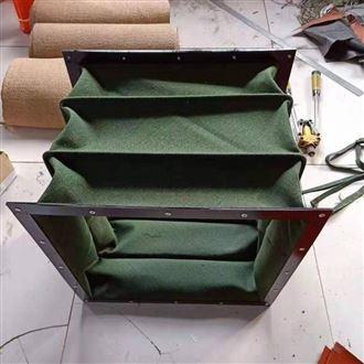 厂家定做湖北耐高温硅胶布通风软连接