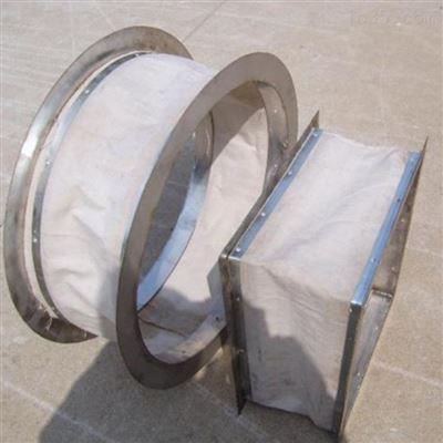 厂家直销方形硅胶布防水伸缩软连接