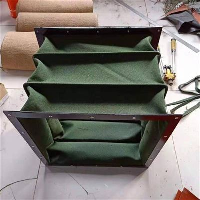 厂家直销帆布耐磨通风口伸缩软连接