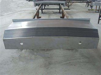 厂家供应龙门磨床钢板式防护罩