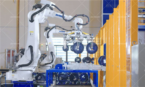新松助力长飞完成光纤行业首个智能问道制造工厂