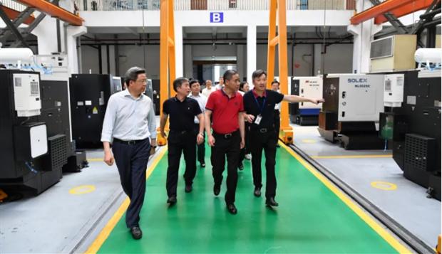 增强创新能力 提升产品质量|工信部副部长辛国斌调研纽威竞技宝