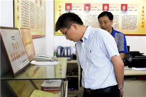 侯东德一行到重庆机床集团调研指导工作