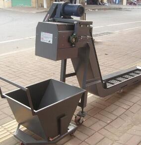 定制排屑机